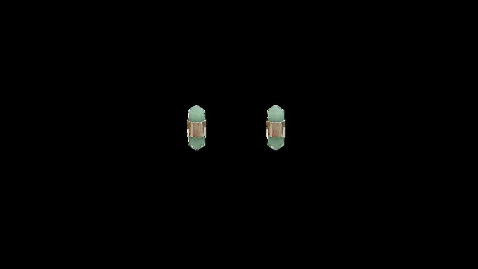 Broquel cuarzo verde