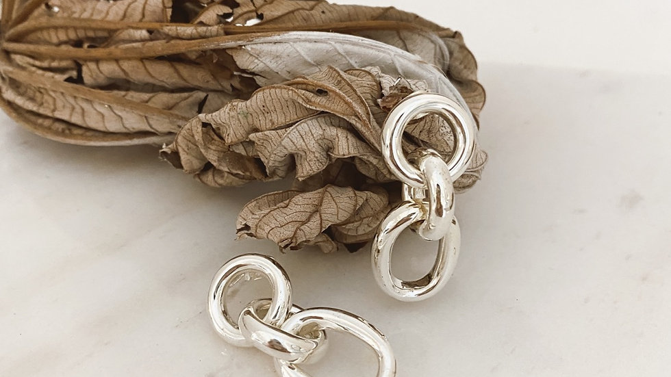 Aretes Link Chain Midi