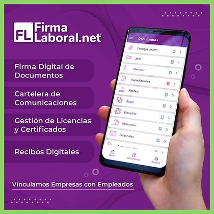 FirmaLaboral.net - App de recursos humanos