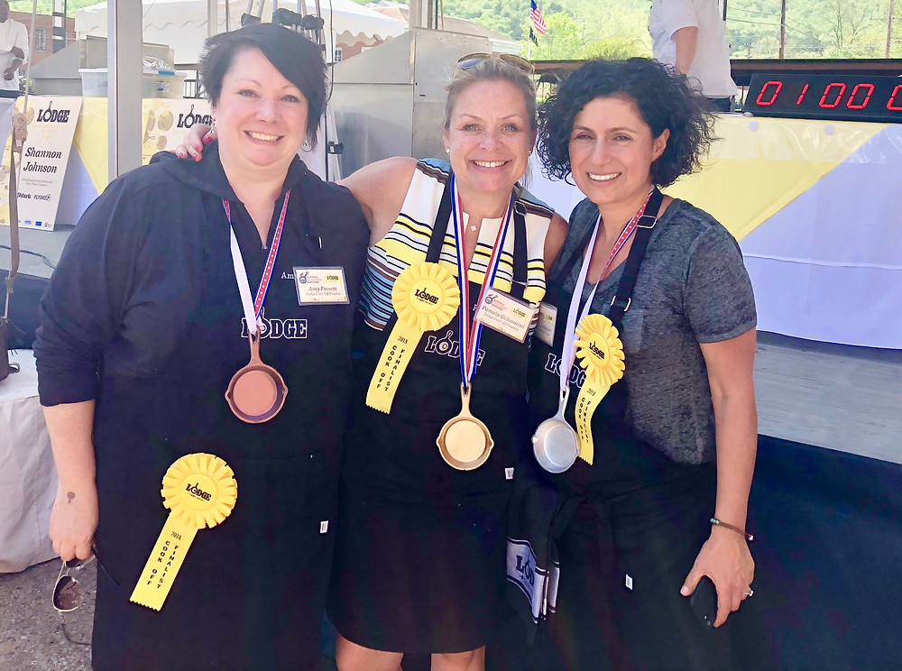 The 2018 winners of the National Cornbread Cook Off