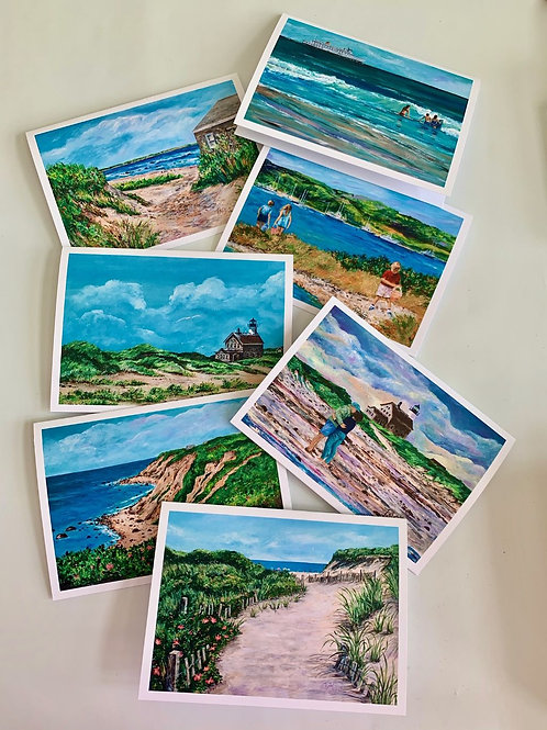 Scenes from Block Island Note Cards