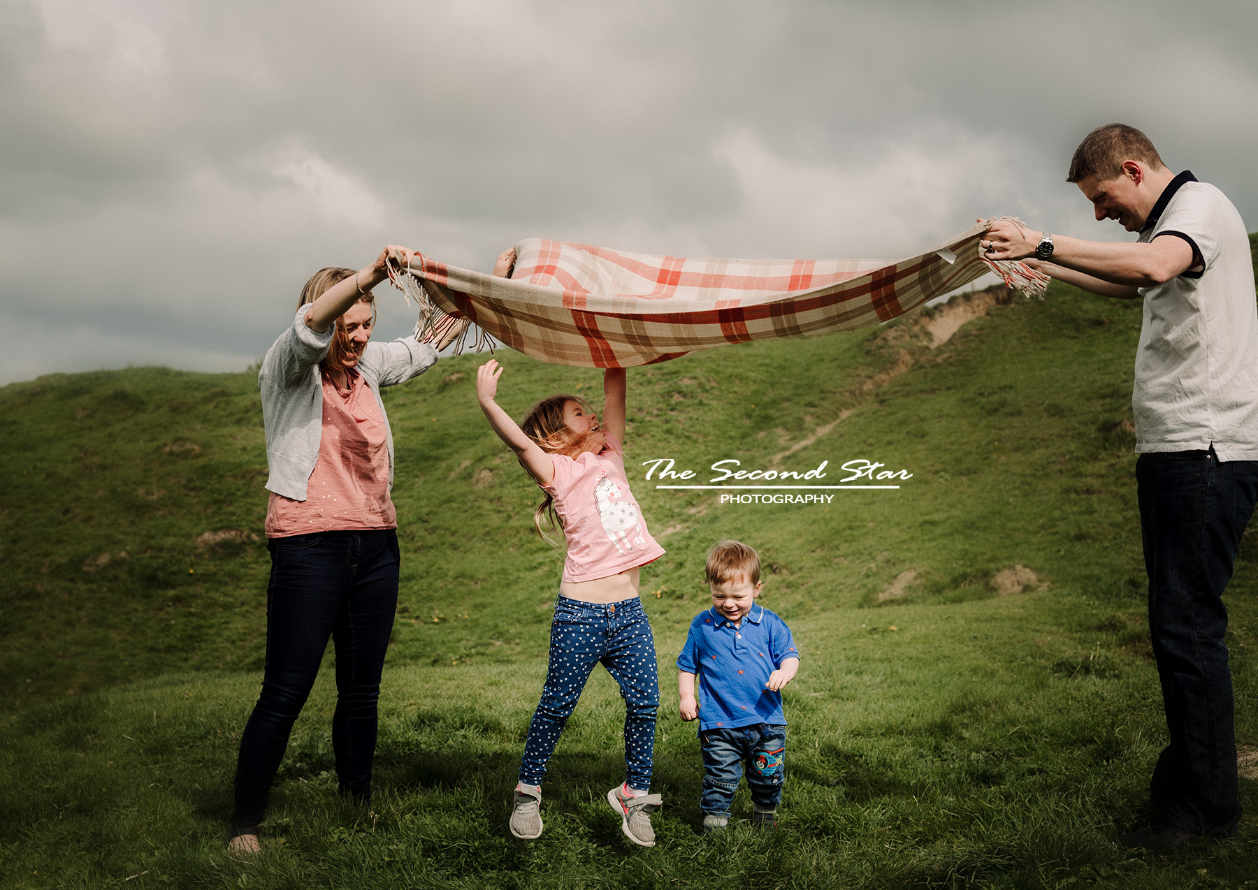 Fun family photoshoot Bicester
