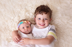 newborn sibling photography bicester