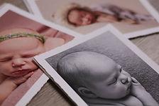 Deckled edge print - fine art newborn ph