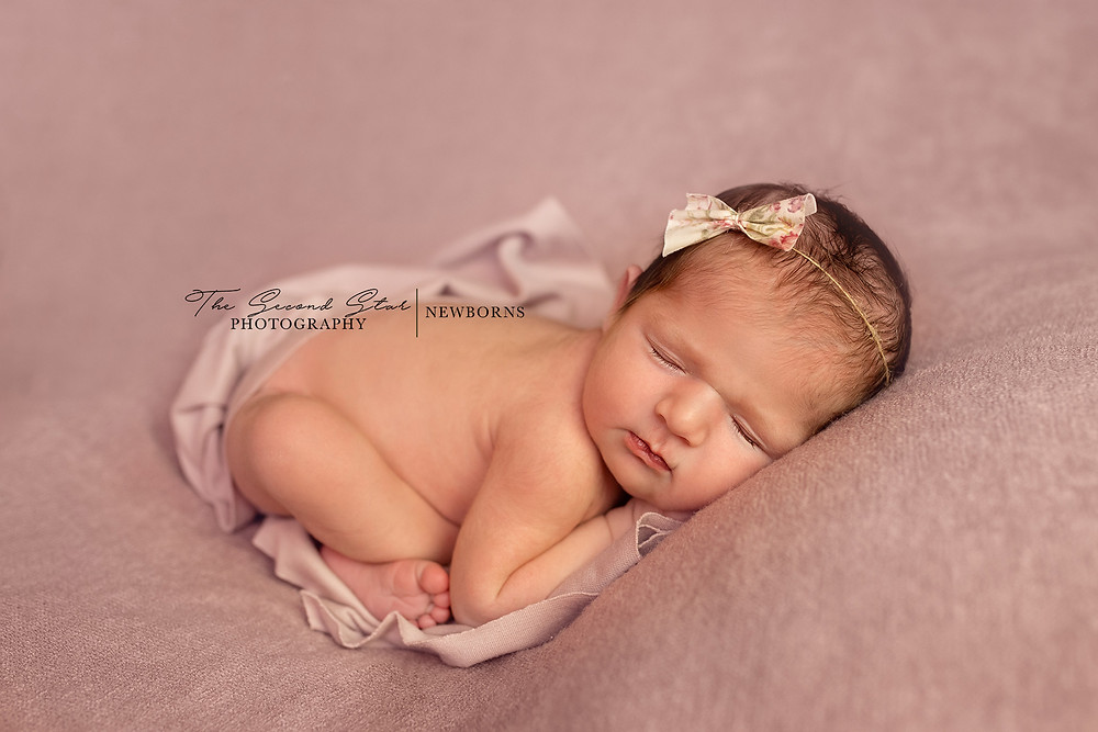 Newborn baby girl photoshoot in home baby photography Oxfordshire, Buckinghamshire, Northamptonshire