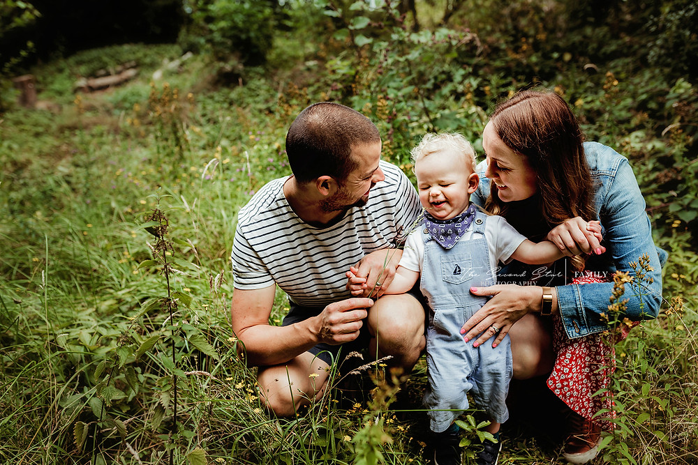Relaxed family photoshoot Oxfordshire