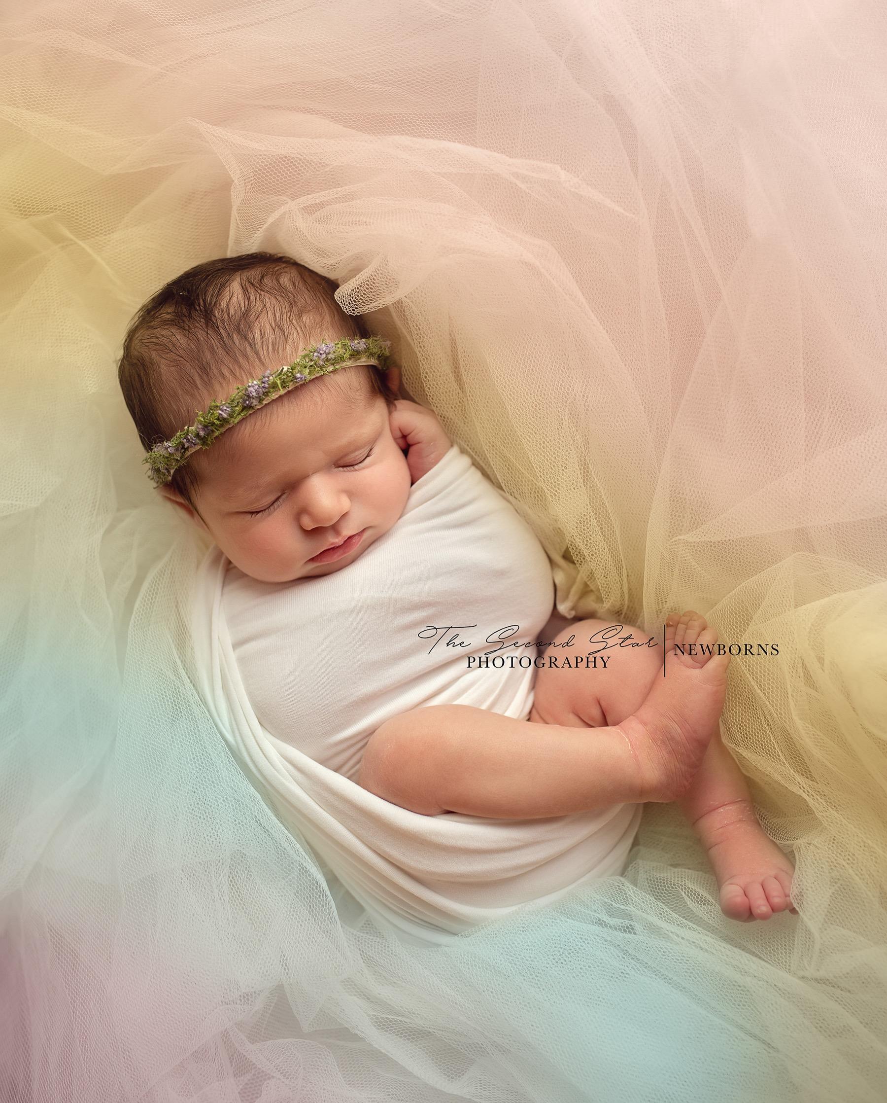 rainbow baby newborn photography Bicester, Oxfordshire