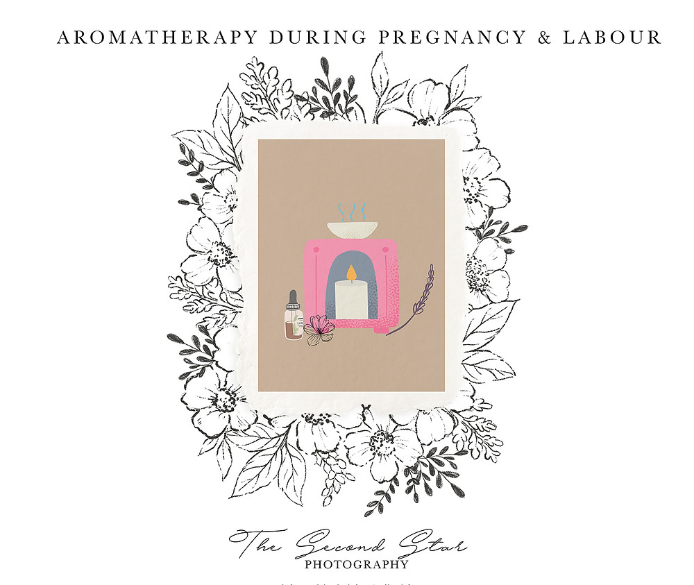 Aromatherapy for pregnancy and labour
