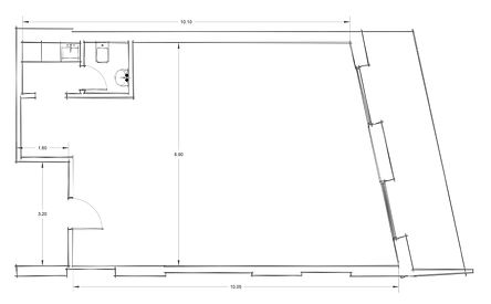 Office 1 CAD Drawings - Architectural Floor Plan