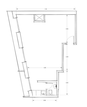Office 6 CAD Drawings - Architectural Floor Plan