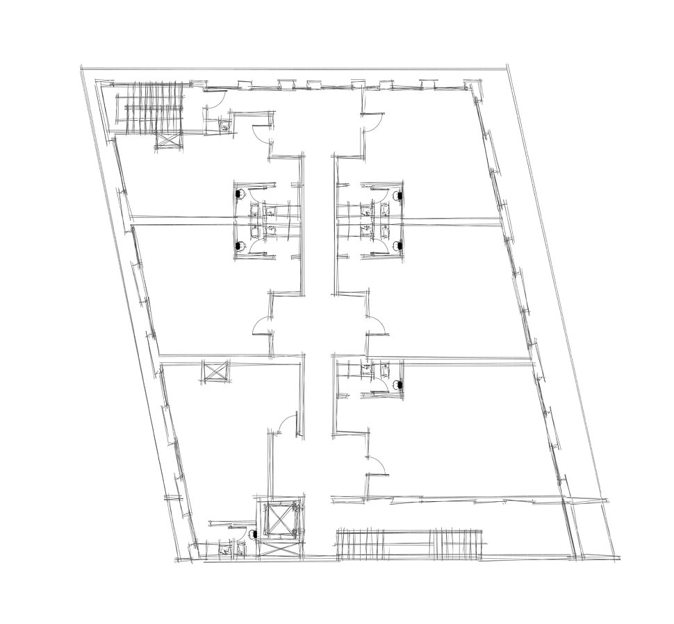 All Offices CAD Drawings - Architectural Floor Plan