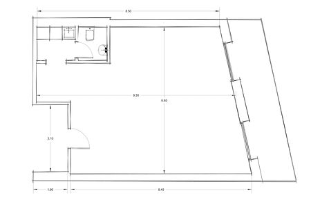 Office 2 CAD Drawings - Architectural Floor Plan