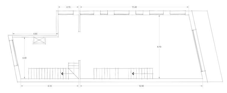 Stores 3 CAD Drawings Floor Plan Layot