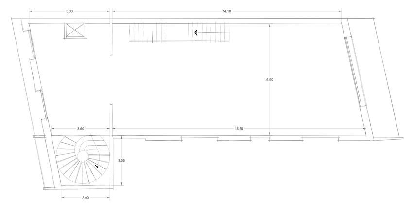 Stores 1 CAD Drawings Floor Plan Layot