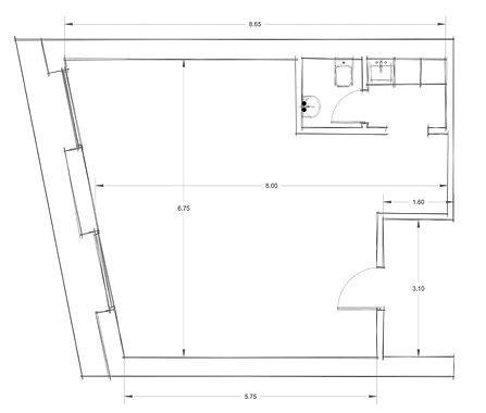 Office 5 CAD Drawings - Architectural Floor Plan