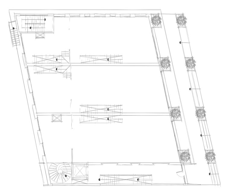 All Stores CAD Drawings Floor Plan Layot