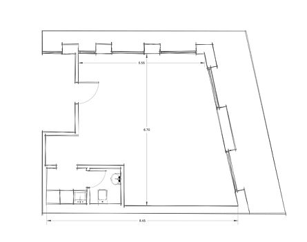Office 3 CAD Drawings - Architectural Floor Plan