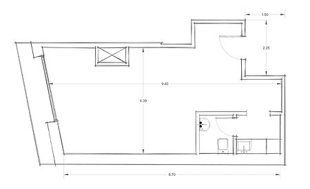 Office 4 CAD Drawings - Architectural Floor Plan