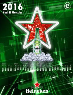 Heineken Calendar