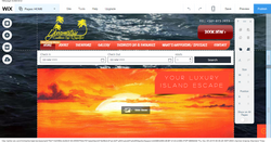 Wix Website Editor