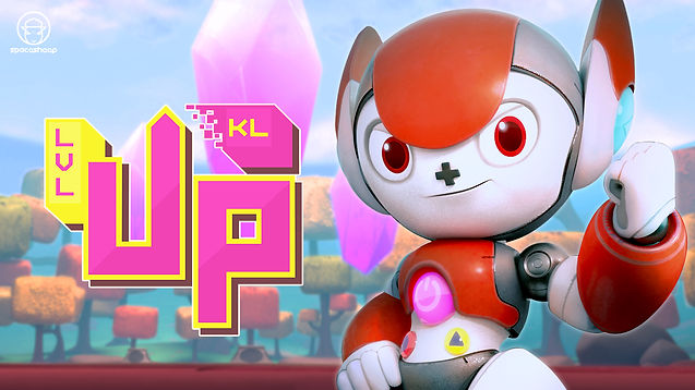 LEVEL UP KL 2020 is up and running and roaring to go! Get yourself ready for a fun ride of games and animations!