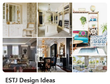ESTJ Design Ideas