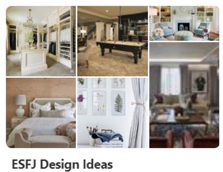 ESFJ Design Ideas