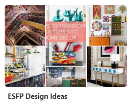 ESFP Design Ideas