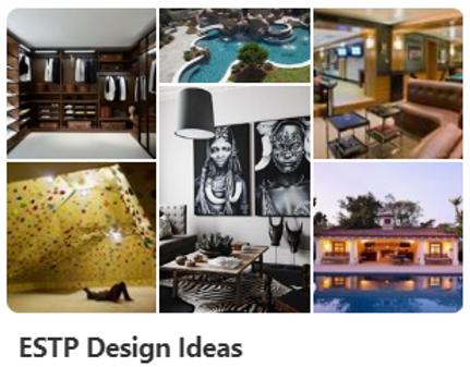 ESTP Design Ideas
