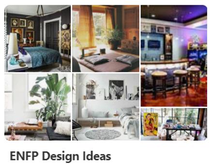 ENFP Design Ideas