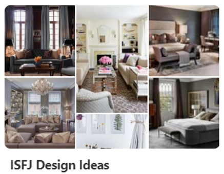 ISFJ Design Ideas