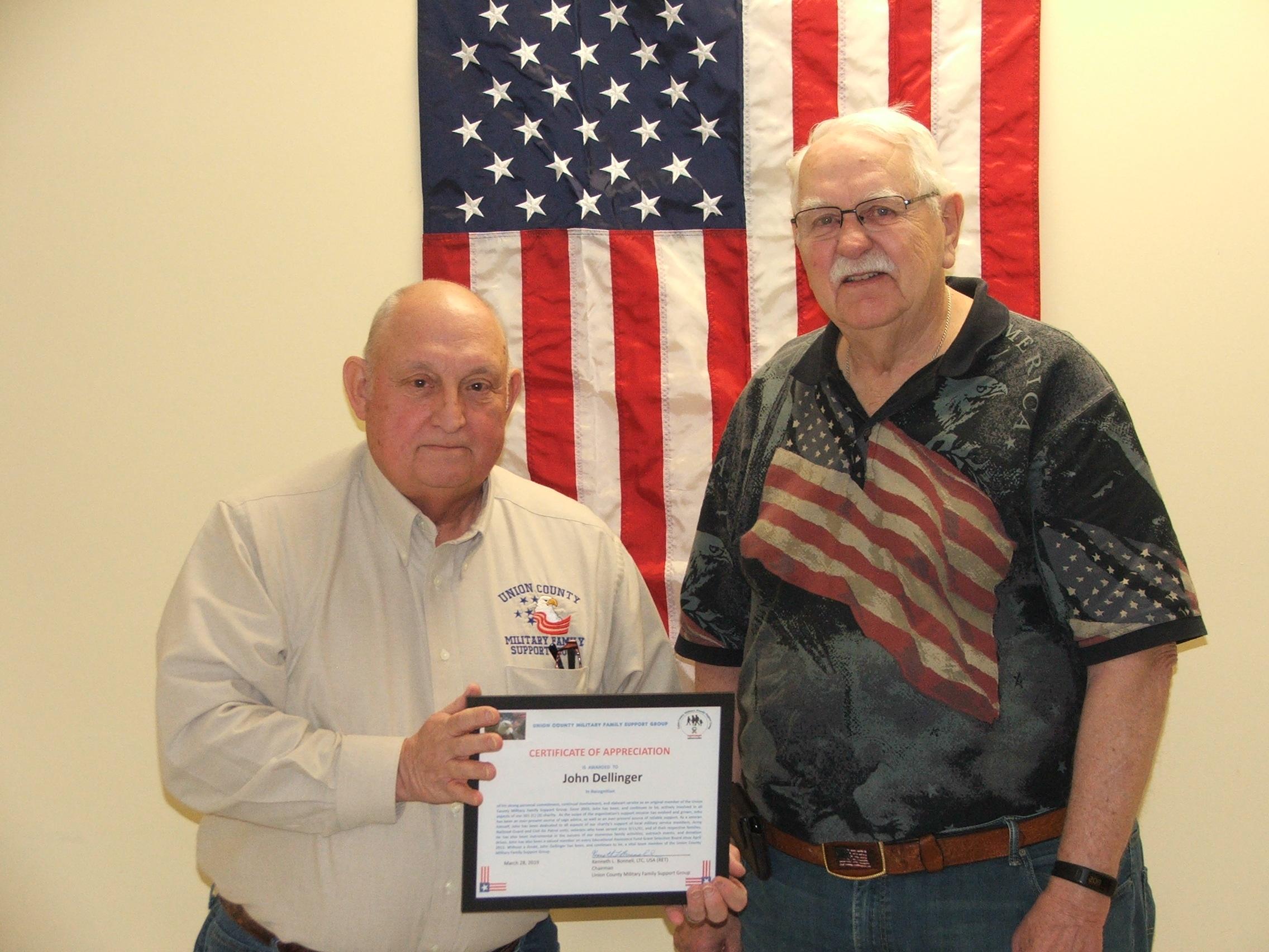 John Dellinger Award