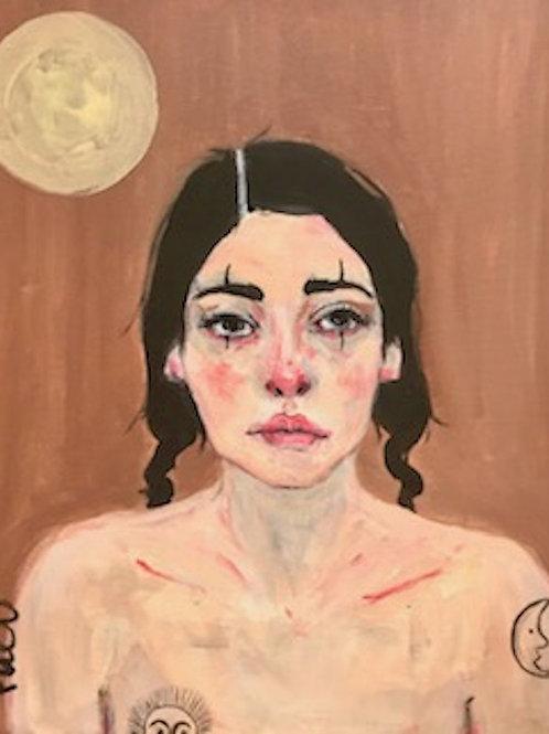 Portrait aux 2 lunes