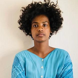 Mulu Legesse, artiste peintre éthiopienn