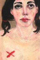 Portrait à la croix rouge