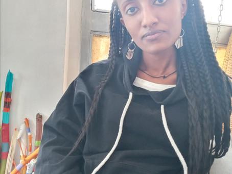 Nouvelle collaboration : Tiemar Tegene peintre éthiopienne