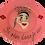 "Thumbnail: ""je rêve donc de suis"" Pink handmade plate by Sara Melki . "