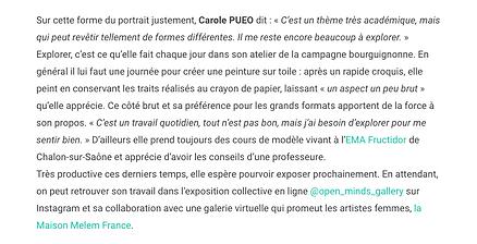 article PausArt sur Carole Pueo.png