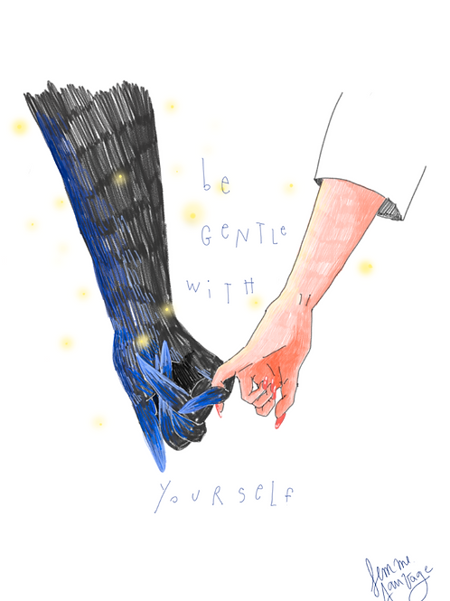 Be gentle yourself