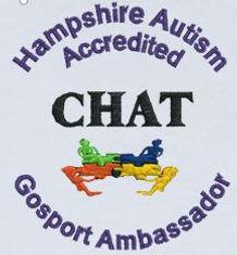 Su's CHAT Gosport Ambassador Badge