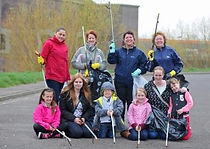 One of our many litterpick teams ages ranging from 3 to 60