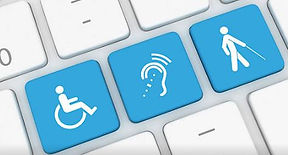 Disability Keyboard buttons