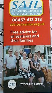 SAIL Seafarers Advice & Information Line