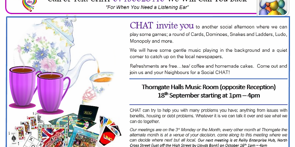 Thorngate Social CHAT