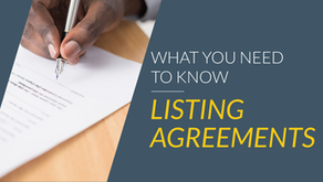 Listing Agreements: What to Know