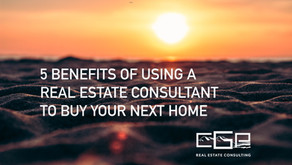 5 Benefits of Using a Real Estate Consultant to Buy Your Next Home in 2021
