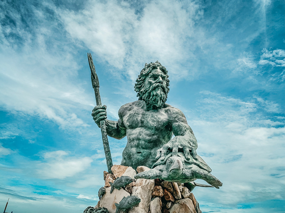 Virginia Beach King Neptune Statue - Photo Credit: Landon Epperly