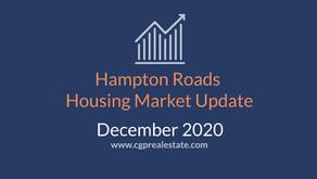 December 2020 Housing Market Update | Hampton Roads Real Estate