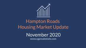 November 2020 Housing Market Update | Hampton Roads Real Estate