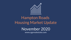 November 2020 Housing Market Update | Hampton Roads Real Estate